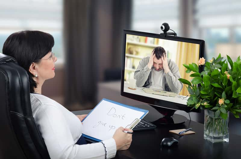 Online therapy phone counseling