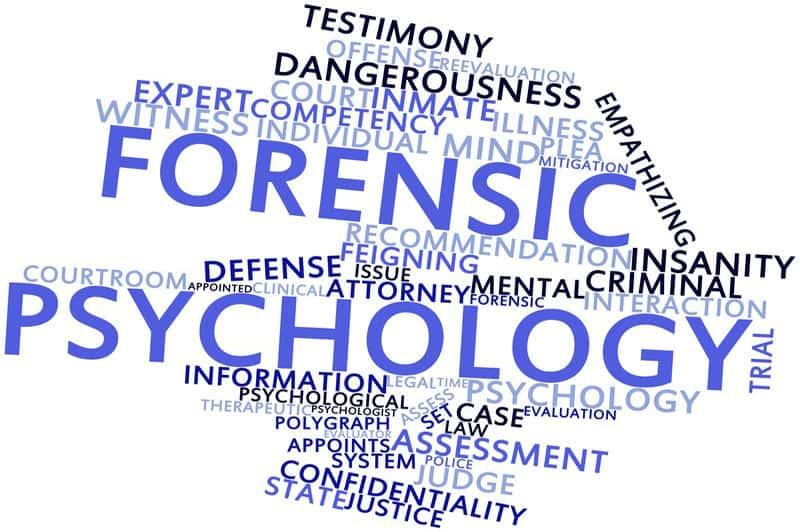 Forensic psychological testing